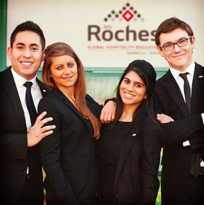 4 Students of Les Roches